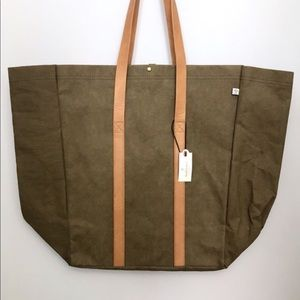 Hearth & Hand with Magnolia Lg. Olive Green Tote